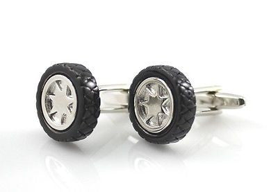 Tire car wheels Cufflinks