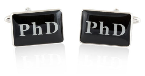 PHD Doctor Doctorate Cufflinks