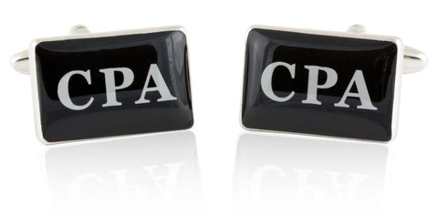 CPA Accountant Bookkeeper Cufflinks