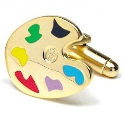 Palette Paint Cufflinks