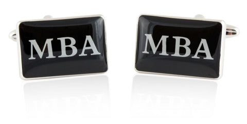 MBA Masters Business Administration Cufflinks