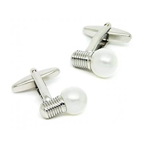 Light Bulb Electrician Cufflinks