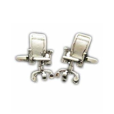 Office Chair Cufflinks