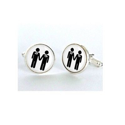 Gay Wedding Cufflinks