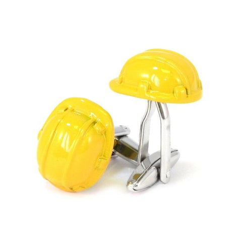 Construction Hat Cufflinks