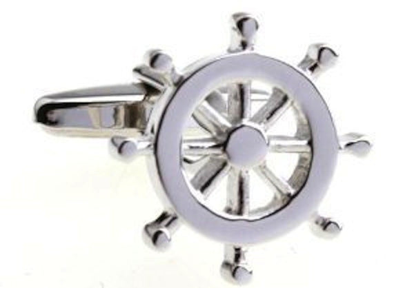 Sailor Wheel Cufflinks