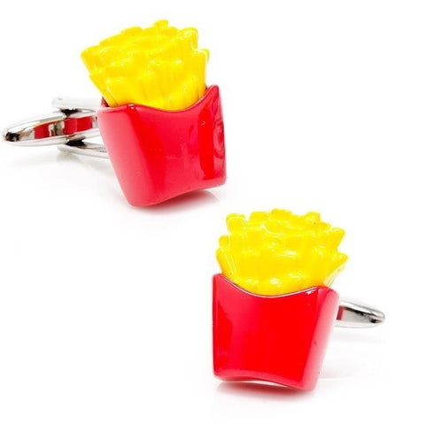 French Fries Fry Cufflinks