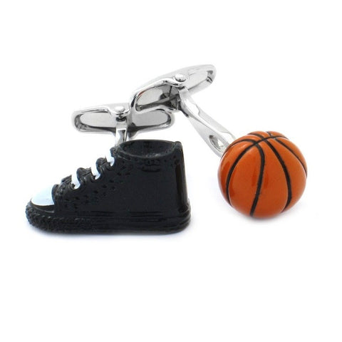 Basketball Shoe Hightop Cufflinks