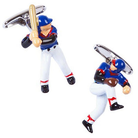 Baseball Player Pitcher Cufflinks