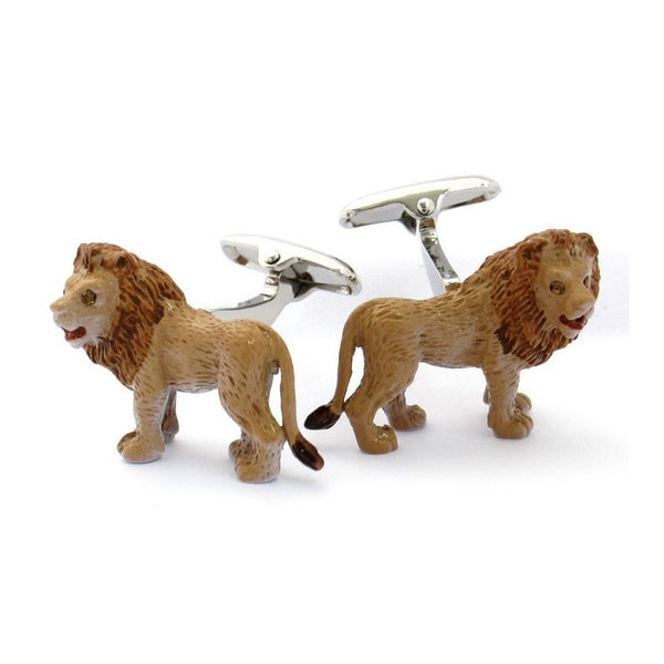 Lion Animal Safari Cufflinks