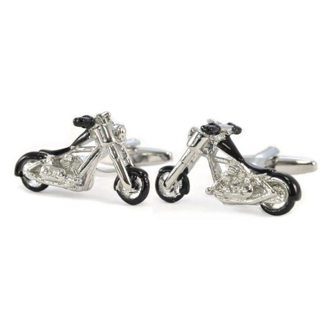 Chopper Motorcycle Harley Cufflinks