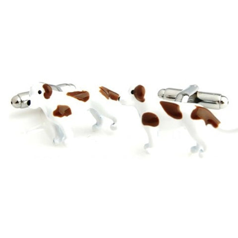 Dog 3-D Pet Cufflinks