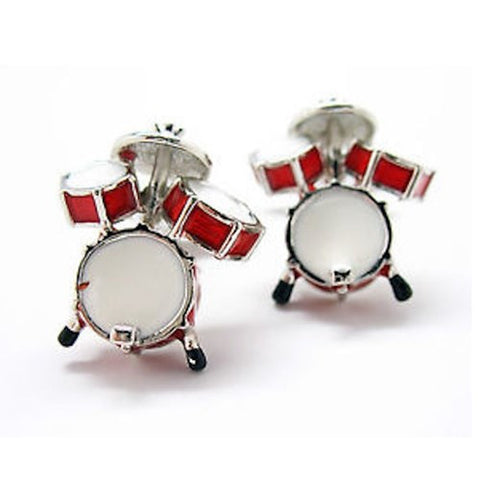 Drum Set Rock N Roll Cufflinks