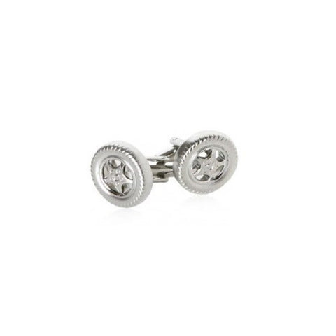 Automotive Tire Wheel Rim Cufflinks