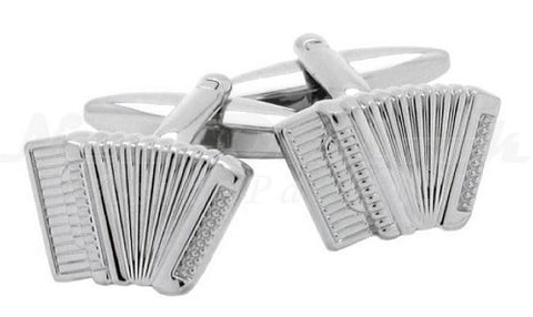 Accordion Piano Music Cufflinks