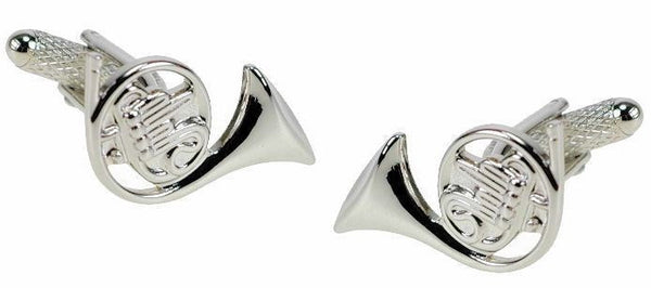 French Horn Classical Cufflinks