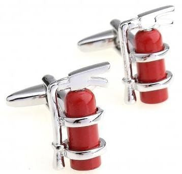 Extinguisher Cufflinks