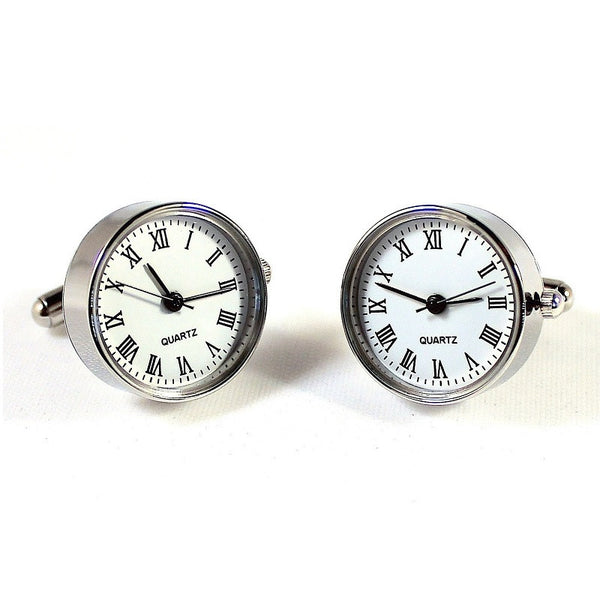 Functional Watch Cufflinks