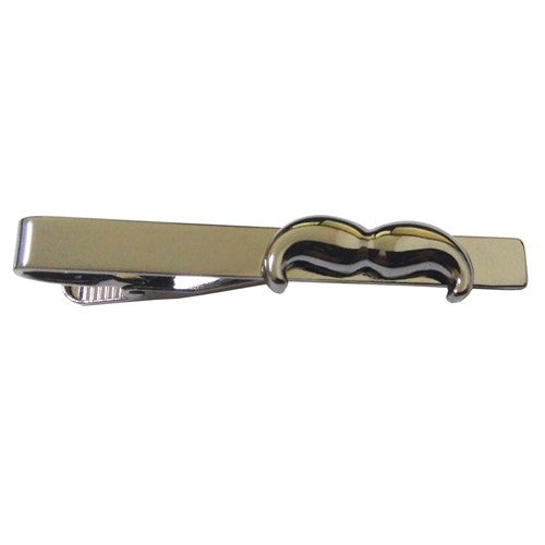 Movember Moustache Men Charity Tie Clip