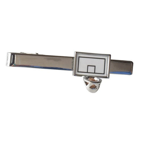 Basketball Hoop Sports Tie Clip