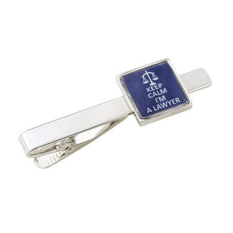 Keep Calm I'M A Lawyer Tie Bar Clasp