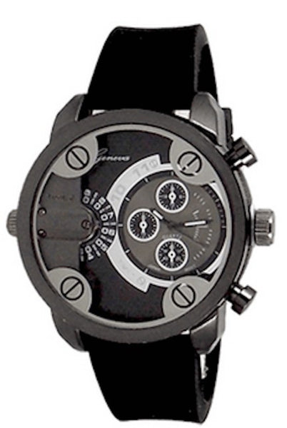 Black (Little Daddy Style) Watch