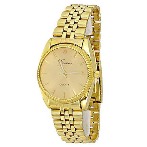 Gold (Rolex Inspired) Fashion Watch