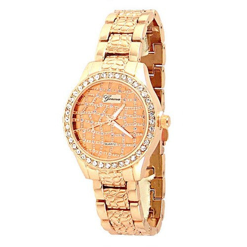 Rose Gold Designer Moroccan Watch