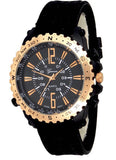 Black Rose Gold Mens Watch