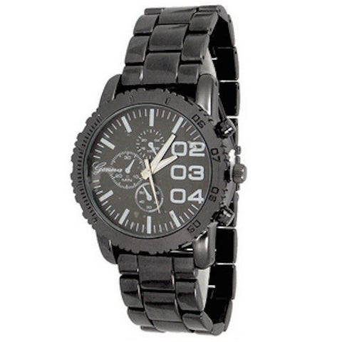 Gun Metal Mens Watch