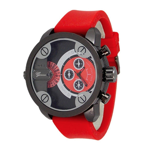 Red Black (Little Daddy Style) Watch