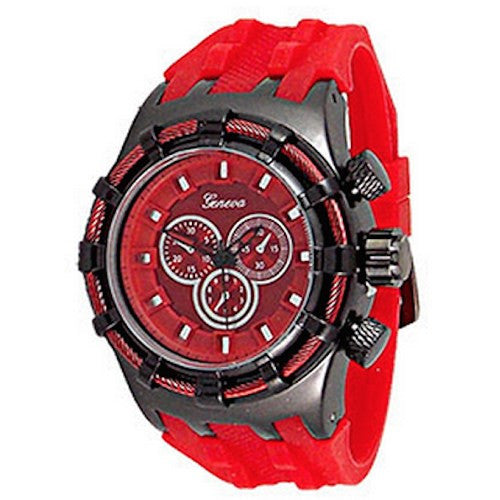 Red Mens (Invicta Style) Watch