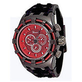 Rose Black Mens (Invicta Style) Watch
