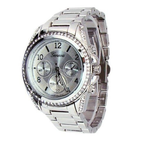 Silver Womens Watch