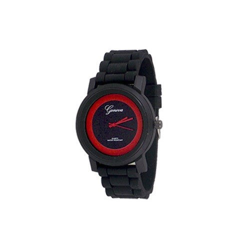 Black Red Sports Watch