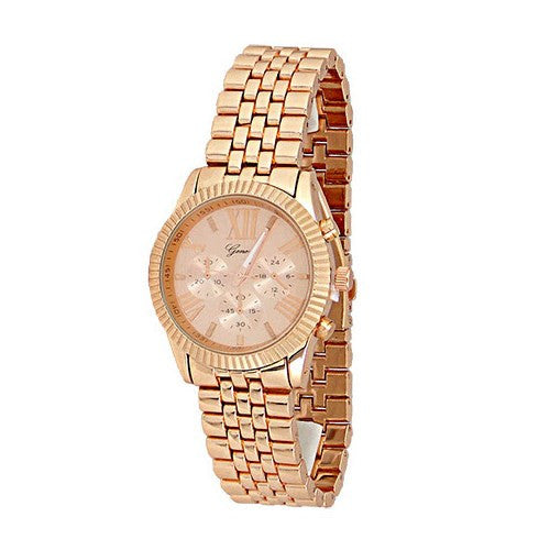 Rose Gold Fashion Watch