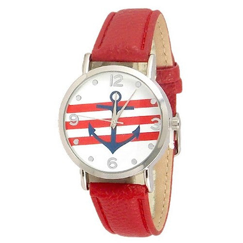 Anchor Band Red Watch