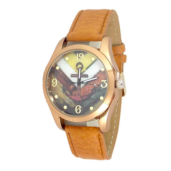 Anchor Red Band Watch