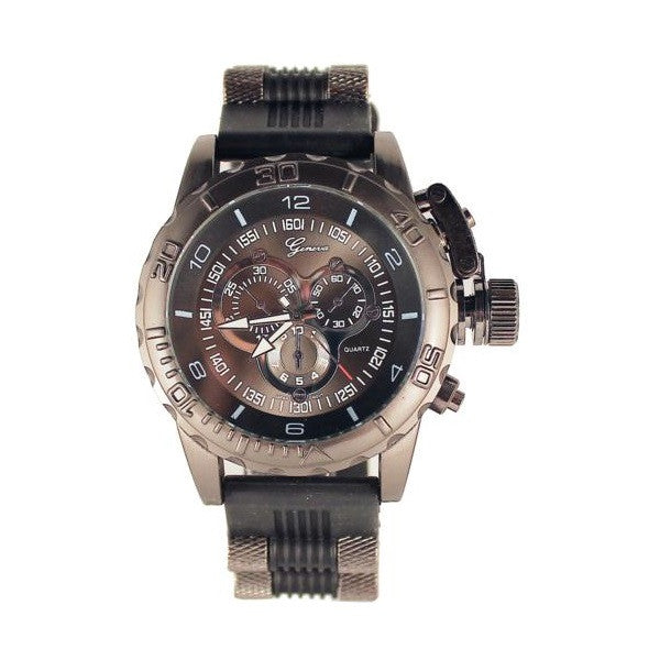 Black Mens (Invicta Style) Watch