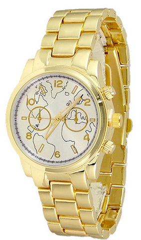 Fashion Silver Gold Watch