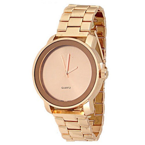Rose Gold Designer Watch