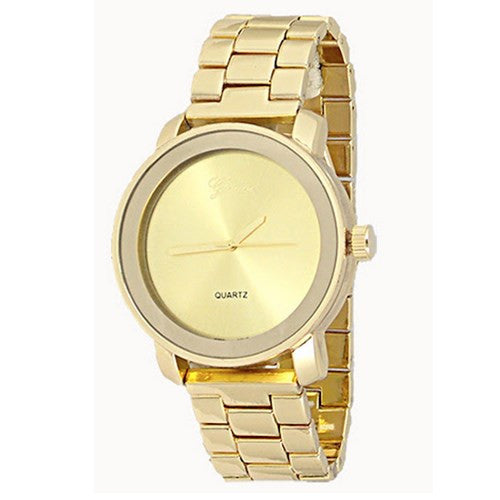 Gold Designer Watch
