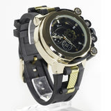 Gold Black Fashion Watch
