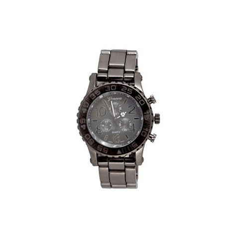 Gun Metal (Style) Watch