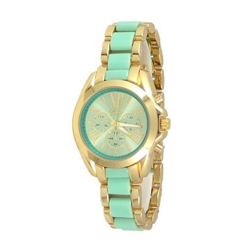Aqua Gold Watch