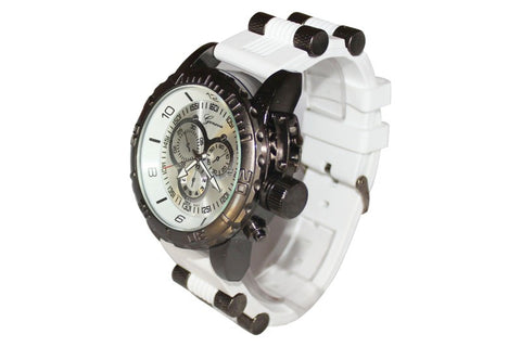White (Invicta Style) Watch