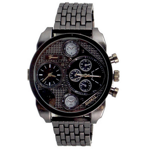 Dual Time(Diesel style) Black Watch