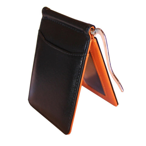Slim Orange Wallet # 2