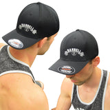 Black & White Circle 1 Cool Dry Soft Mesh Cap