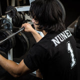 Barbell 1 Name & Number Squad Jersey T-Shirt